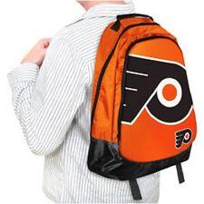 Philadelphia Flyers BackPack / Back Pack Book Bag NEW NHL - TEAM COLORS BIG LOGO