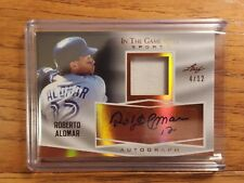 2018 In the Game Used ROBERTO ALOMAR Auto / Patch 4/12