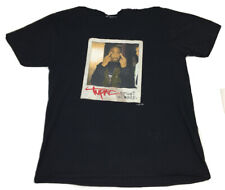 Tupac Trust nobody Mike Millin Men's Black T Shirt Sz L Tag Amaru Entertainment