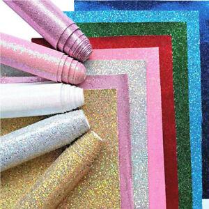 Self Adhesive Diamond Glitter Fabric vinyl Peel and stick Wallpaper Borders DIY