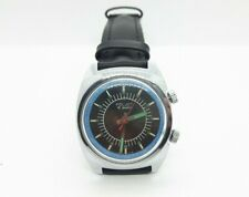 Vintage Russian Soviet Poljot 18 jewels Alarm Mens Wristwatch, Movement 2612.1