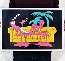 Matt Gondek - Miami Panther Print Signed Art Basel Simpsons Family Guy