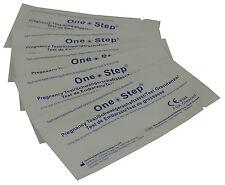 5 tiras de prueba de embarazo temprana de ultra 10mIU hCG kits de pruebas de inicio de la orina un paso