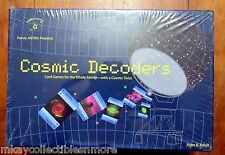 Cosmic Decoder Card Game Family Astro 2003 National Science Foundation Sealed