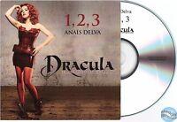 DRACULA ANAIS DELVA 1, 2, 3 1 2 3 CD PROMO jennifer ayache superbus