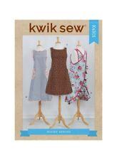 Kwik Sew 4301 Paper Sewing Pattern Xs-Xl Pullover Criss Cross Back Apron
