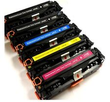 5x New 2BK+3Color Toner For HP 125A CB540A - CB543A CP1217 1510 1515 1518 CM1312