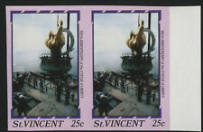 980A ST VINCENT IMPERF PAIR STATUE OF LIBERTY BL1415