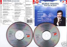 "Murray PERAHIA ""Tout l'Art du Piano"" (2 CD) Mozart 1991"