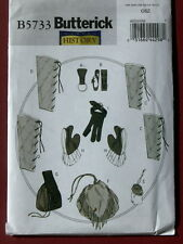Butterick Pattern 5733 Costume Mug/Ax Loops, Bracers, Greaves, Gloves and Pouch