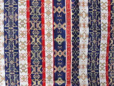 Colourful Turkish mat or rug 140x140cm chenille cotton polyester Made in Turkey