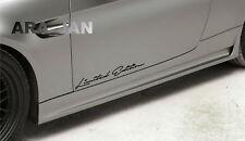 Limited Edition Decal Sticker sport racing car door emblem logo auto performance