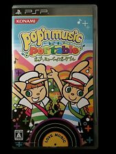 Pop'n Music Portable Love Music (PSP, 2010) Konami, CIB, U.S Seller