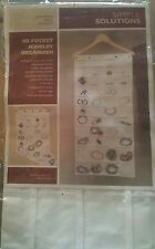 Simple Solutions 80 Pocket Hanging Jewelry Organizer.         (B06)