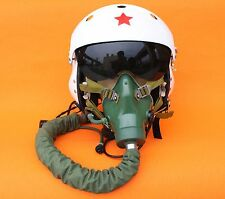 FLIGHT HELMET MIG-29 AIR FORCE PILOT HELMET SIZE:1# XXL OXYGEN MASK