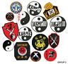Martial Arts Logo Patches, Karate,Taekwondo, Kenpo Shotokan Sew-on Group 3