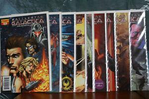 Battlestar Galactica Season Zero Issues 1 - 10 2007 Dynamite Comics