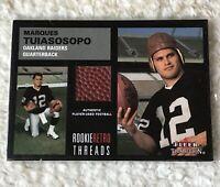 2001 Fleer Tradition Rookie Retro Threads #40 Marques Tuiasosopo Jersey