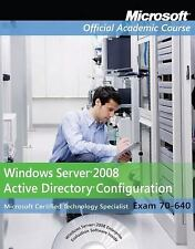 70-640 Pack : Windows Server 2008 Active Directory Configuration Package