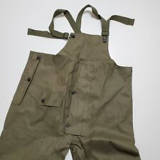 1954 Wet Foul Weather Overall Vintage Usn Vintage Deadstock Od7 Class A 50s Nos
