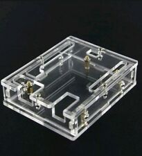 Acrylic Box Enclosure Transparent Case for Arduino MEGA2560 R3 Arduino UNO R3