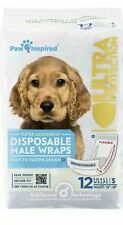 Paw Inspired Disposable Male Wraps Belly Bands Ultra SMALL Dog Diapers