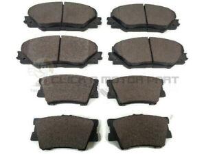 Brake Pads Set fits TOYOTA RAV-4 ALA30 2.2D Front 06 to 12 Bosch 0446542140 New