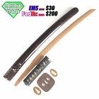 D1685 Japanese Edo Samurai WAKIZASHI KOSHIRAE takemitsu katana iron tsuba