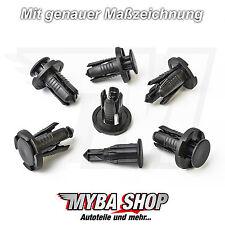 10x Stoßstangen Befestigungs Clips für Honda Subaru Mitsubishi | 0155309241