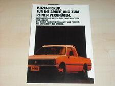 45323) Isuzu Pickup Prospekt 09/1985