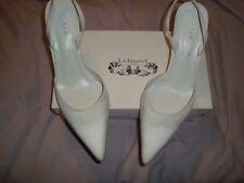L.K.BENNETT UK 8 EU 42  SILK White Ivory shoes RRP £129.00