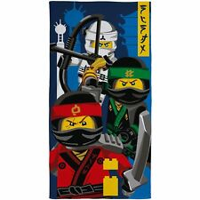 Official Lego Ninjago Movie Ninja Cotton Towel 140cm X 70cm