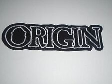 ORIGIN BRUTAL DEATH METAL IRON ON EMBROIDERED PATCH