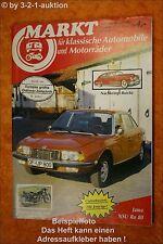 Oldtimer Markt 10/87 NSU Ro 80 Morris Minor Buick