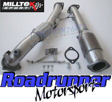 "Milltek SSXFD067 Focus RS MK2 3"" Downpipe Exhaust & Hi Flow Sports Cat 200 Cell"