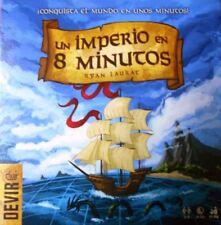 UN IMPERIO EN 8 MINUTOS - JUEGO DE MESA - GESTIÓN DE RECURSOS Y ESPACIOS