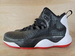 Nike Air Jordan Super.Fly MVP BRED Black Basketball Shoes AT3005-001 Mens 11.5