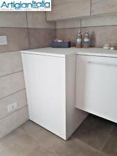 Coprilavatrice portalavatrice mobile lavanderia in legno su misura vari colori