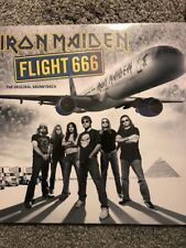 IRON MAIDEN 'FLIGHT 666' THE ORIGINAL SOUNDTRACK 2 x  VINYL LP - NEW & SEALED