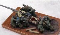1/35 9pcs/set Resin Figure Model Kit German Soldiers (no gun) WWII WW2 Unpainted