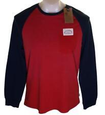New Men's Timberland Kennebec River Raglan Long Sleeve T Shirt Top Medium RRP£45