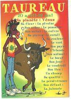 CPM - Carte postale RASTA signe du zodiac TAUREAU - Postcard