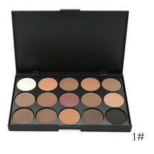 New Arrival Nude 15 、28 Color Matte Pigment Eyeshadow Shimmer Eye Shadow Palette