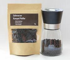 50g Schwarzer Kampot Pfeffer - Original, handverlesen, zertifiziert - Blk Pepper