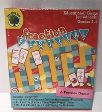 Teaching Fraction Festival Educational Game Grades 3-4 New & Sealed