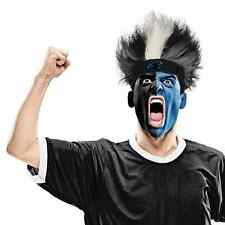 Carolina Panthers Fuzz Head Wig NFL Football Sports Game Day Costume Accessory