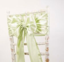 CLEARANCE SATIN SASHES - CHAIR BOWS - WEDDING EVENTS PARTY CHAIR DECOR