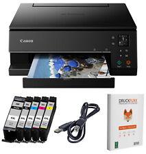 Canon PIXMA TS 6350 Multifunktionsdruck Scanner Kopierer Duplex WLAN + 5x TINTE