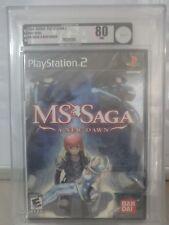 NEW Sealed - VGA 80 NM - Graded 2006 MS Saga: A New Dawn Sony Playstation 2 PS2