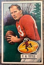 1951 Bowman Football - #32 - Y. A. Tittle - HOF San Francisco 49ers - NM-MT
